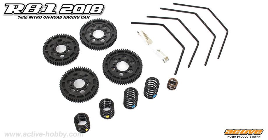 R8.1 2018 regular parts